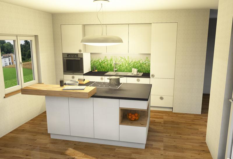Küche Kücheninsel Planung u203a Holzwerkstatt Blank